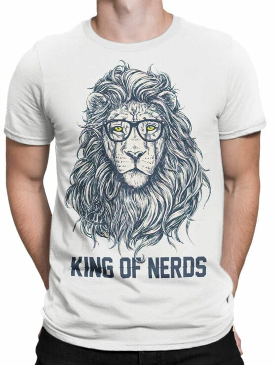 1874 King of Nerds T Shirt Front Man