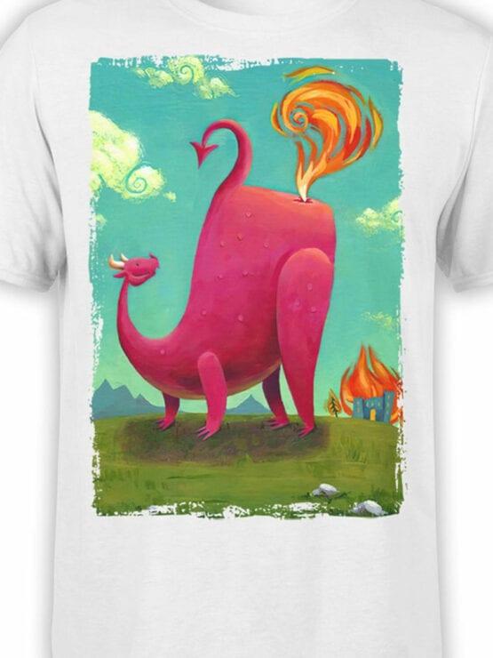 1875 Dragon Farts T Shirt Front Color