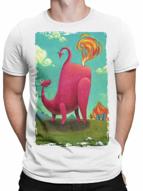 1875 Dragon Farts T Shirt Front Man