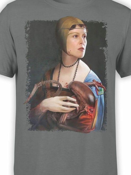 1878 Xenomorph Renaissance T Shirt Front Color