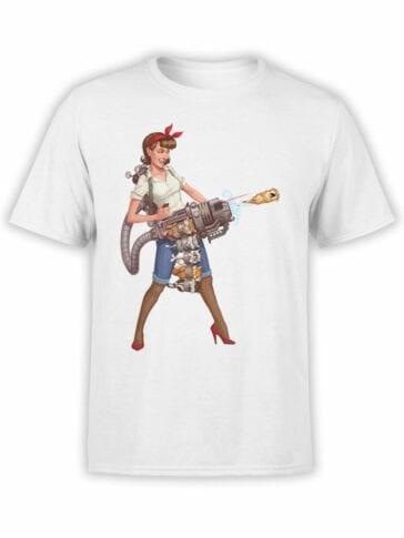 1879 Kittygun T Shirt Front