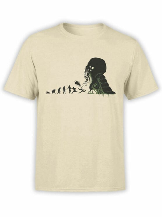 1883 Evolution of Cthulhu T Shirt Front