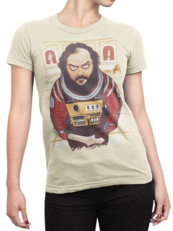 1884 Stanley Kubrick T Shirt Front Woman