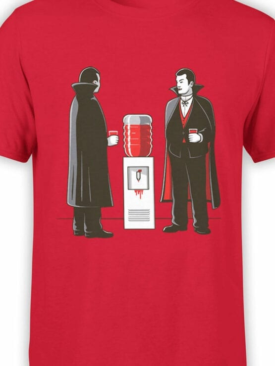 1885 Vampire Break T Shirt Front Color