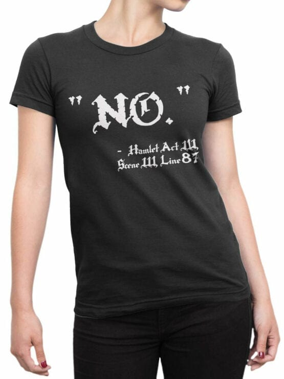1887 Hamlet No T Shirt Front Woman