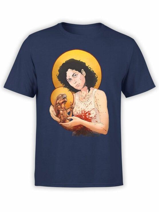1888 St Alien T Shirt Front