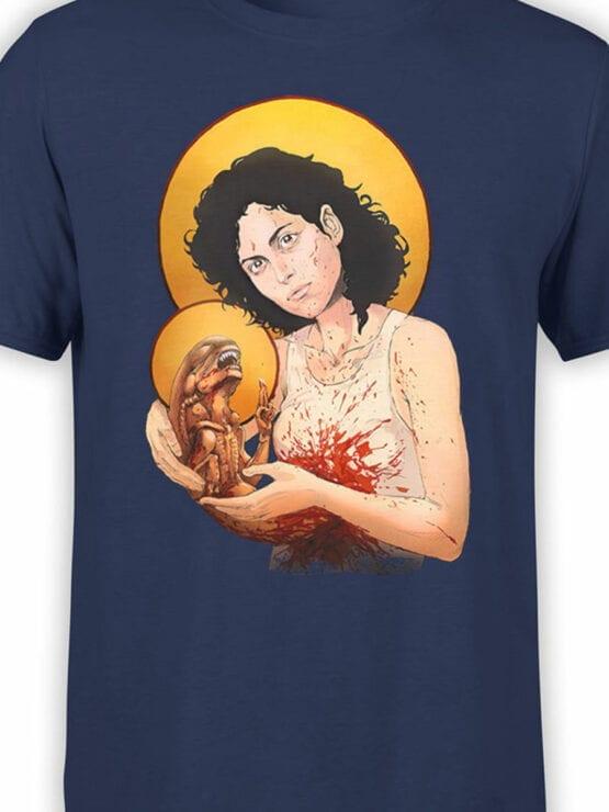 1888 St Alien T Shirt Front Color