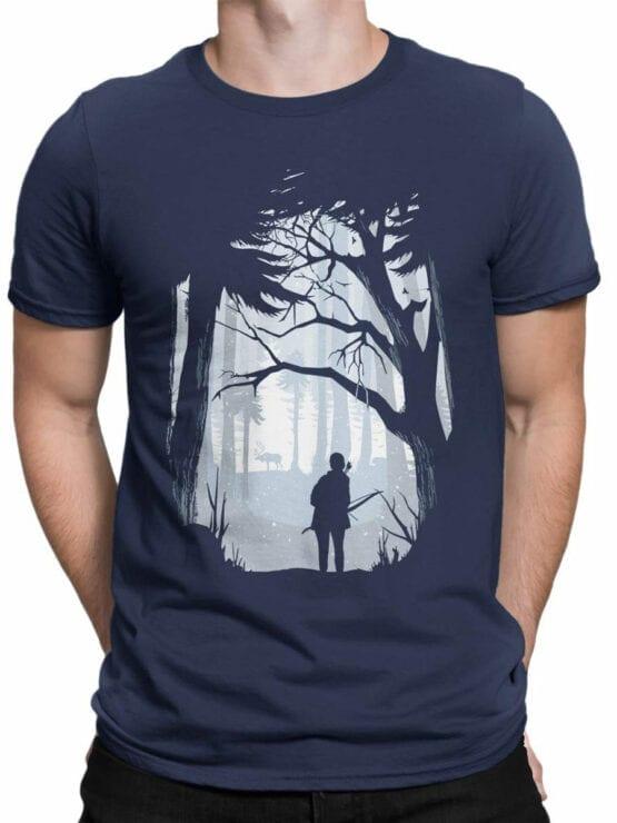 1891 Hunt T Shirt Front Man