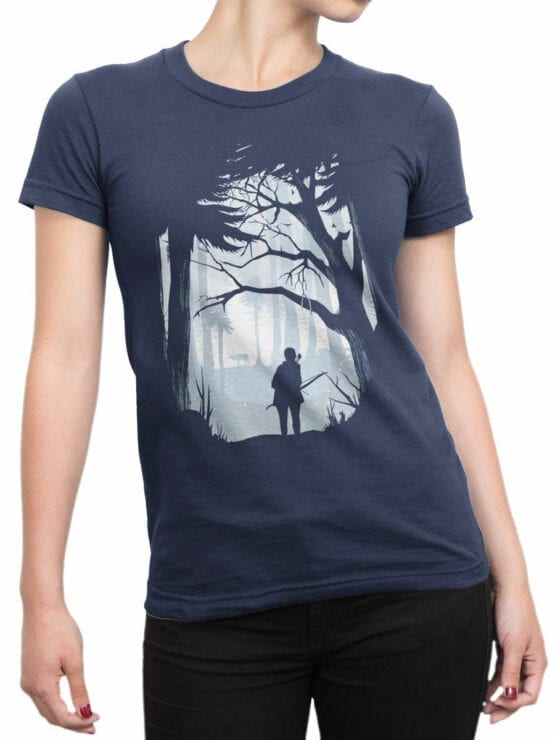 1891 Hunt T Shirt Front Woman