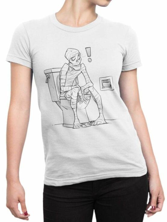 1892 Mummy T Shirt Front Woman
