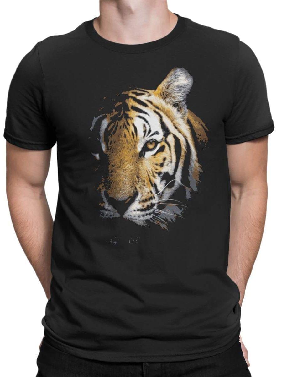1899 Tiger Face T Shirt Front Man