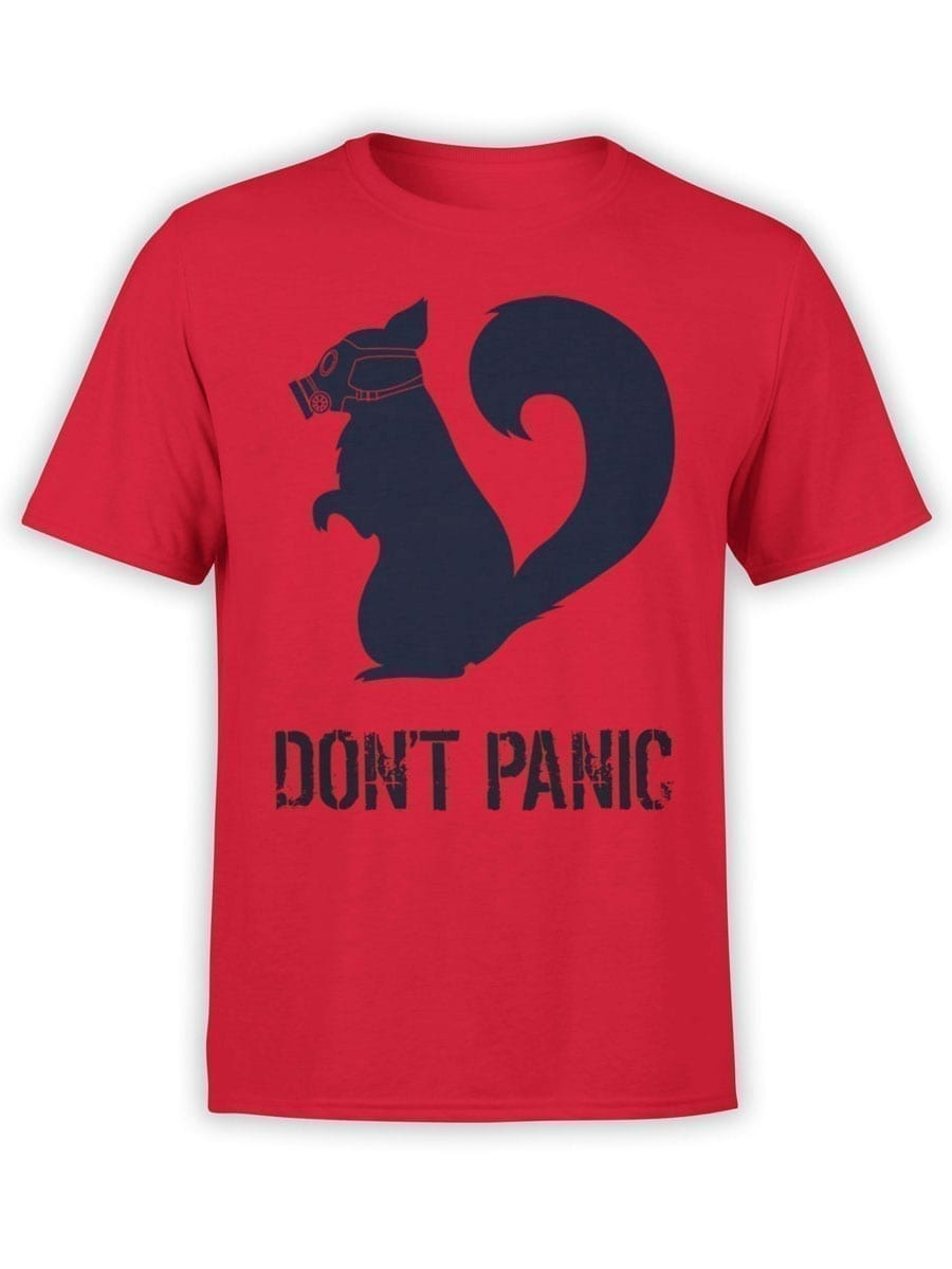 1900 Dont Panic T Shirt Front