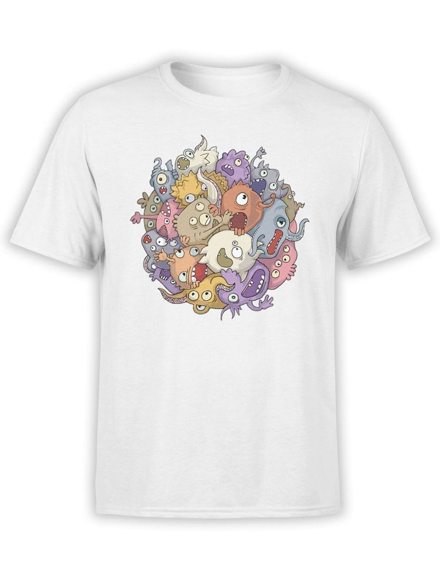 1902 Monsters Sphere T Shirt Front