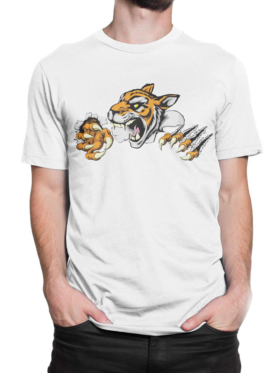 1903 Angry Tiger T Shirt Front Man 2