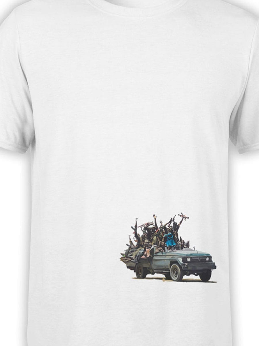 1904 Cookie Monster Terrorist T Shirt Front Color