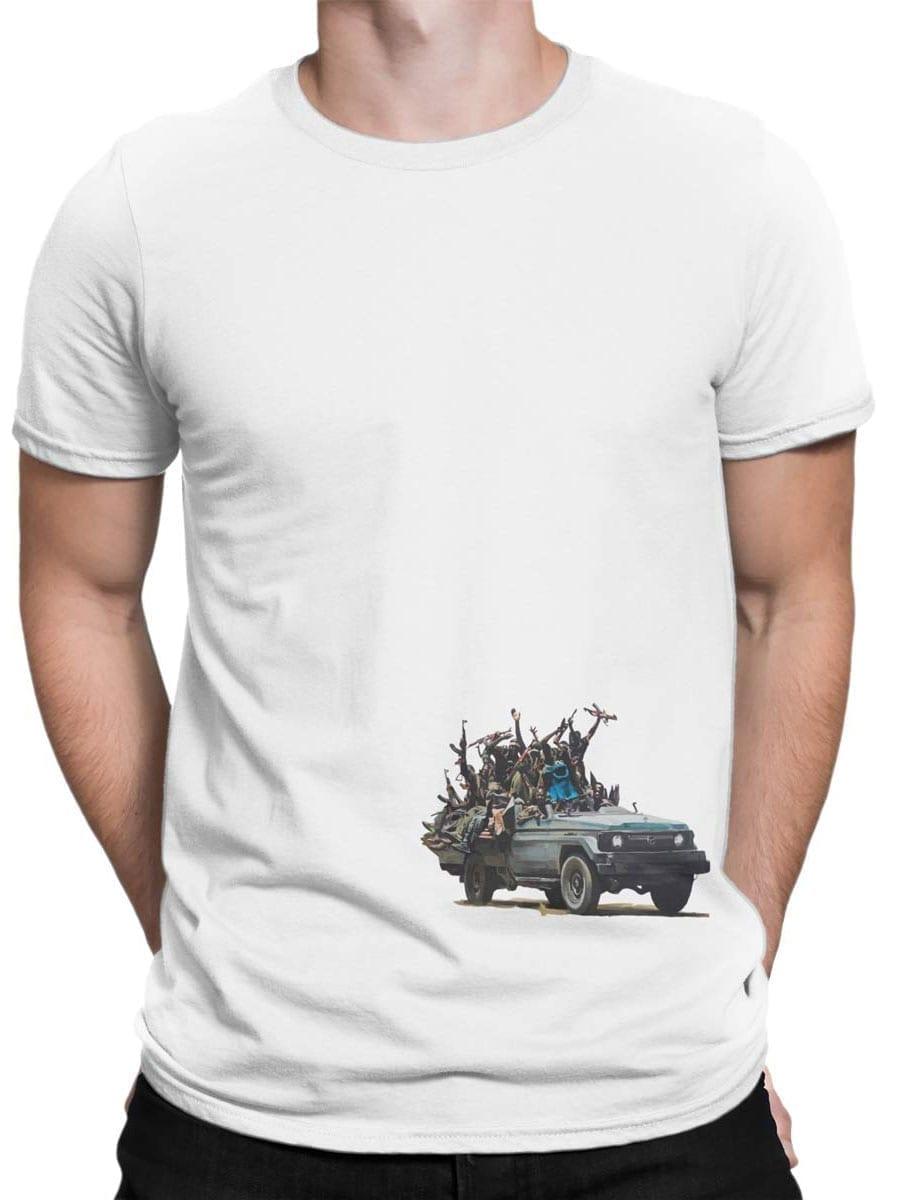 1904 Cookie Monster Terrorist T Shirt Front Man