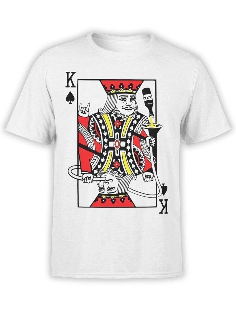 1907 Drunken King T Shirt Front