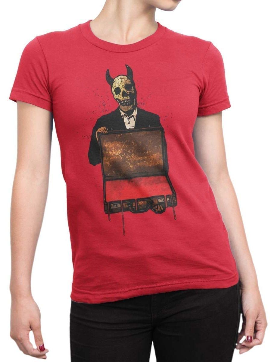 1908 Blood T Shirt Front Woman