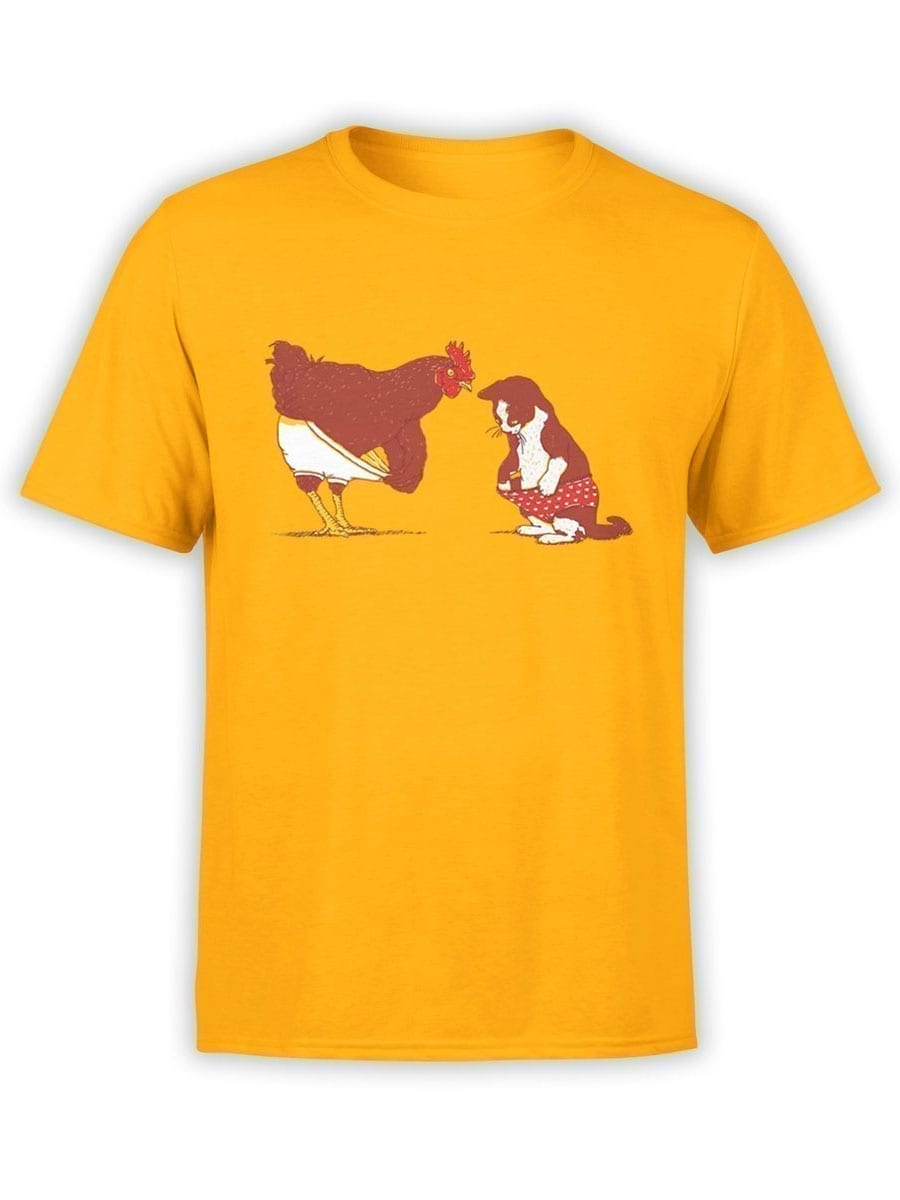 1910 Cock and Pussy T Shirt Front