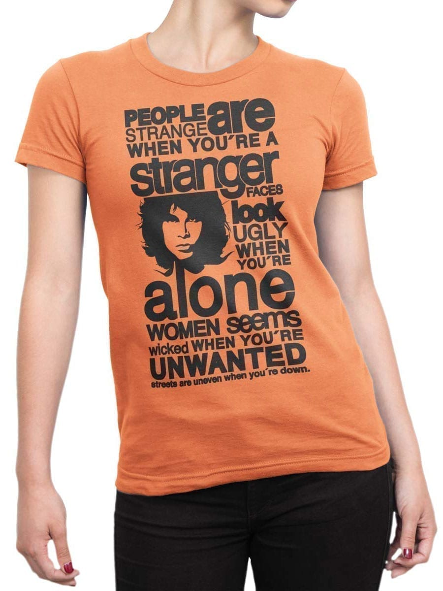 1912 Jim Morrison T Shirt Front Woman