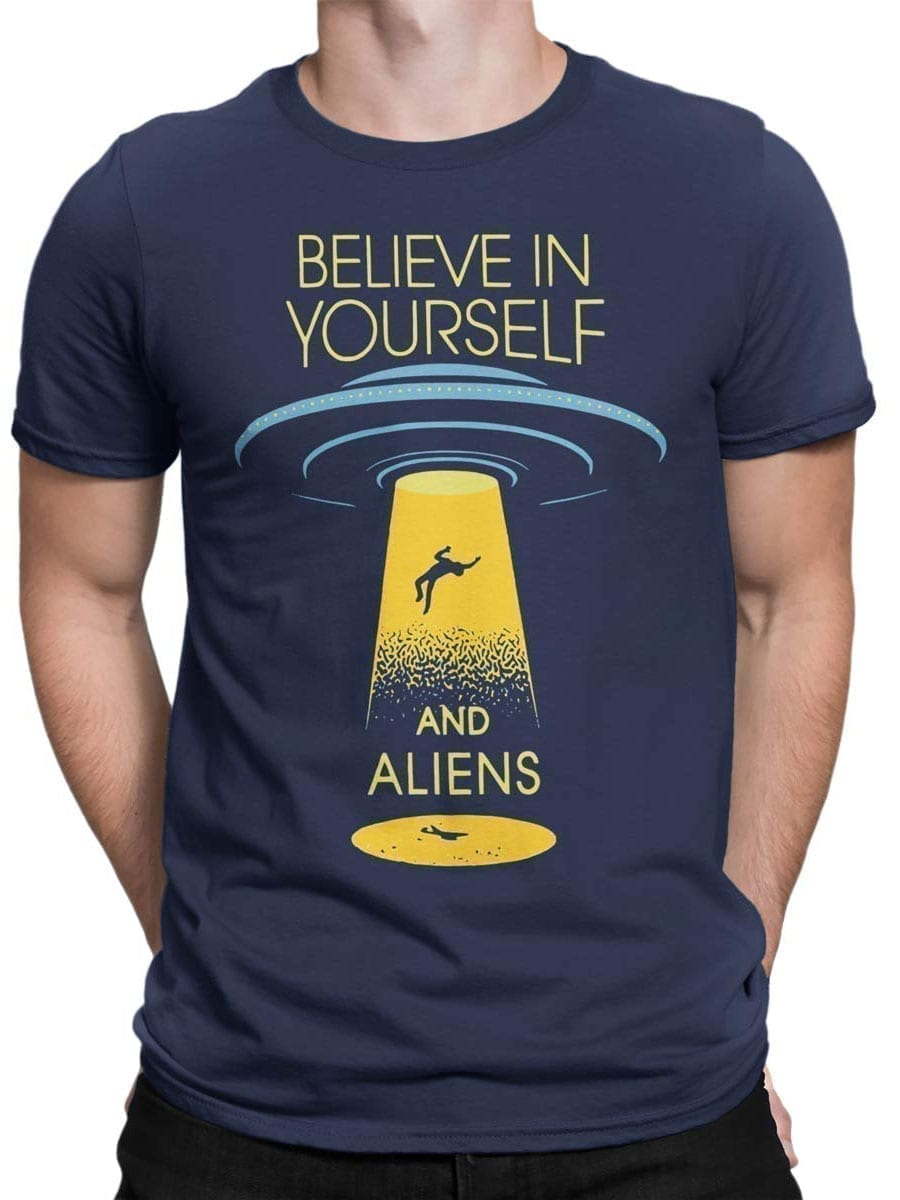 1913 Believe in Yourself T Shirt Front Man
