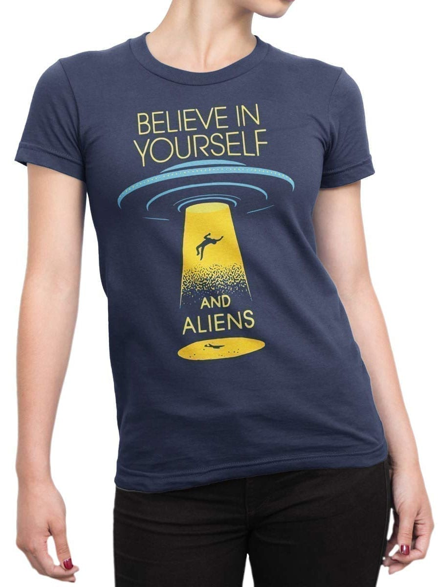 1913 Believe in Yourself T Shirt Front Woman