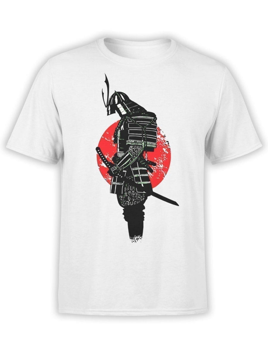 1914 Lonely Samurai T Shirt Front