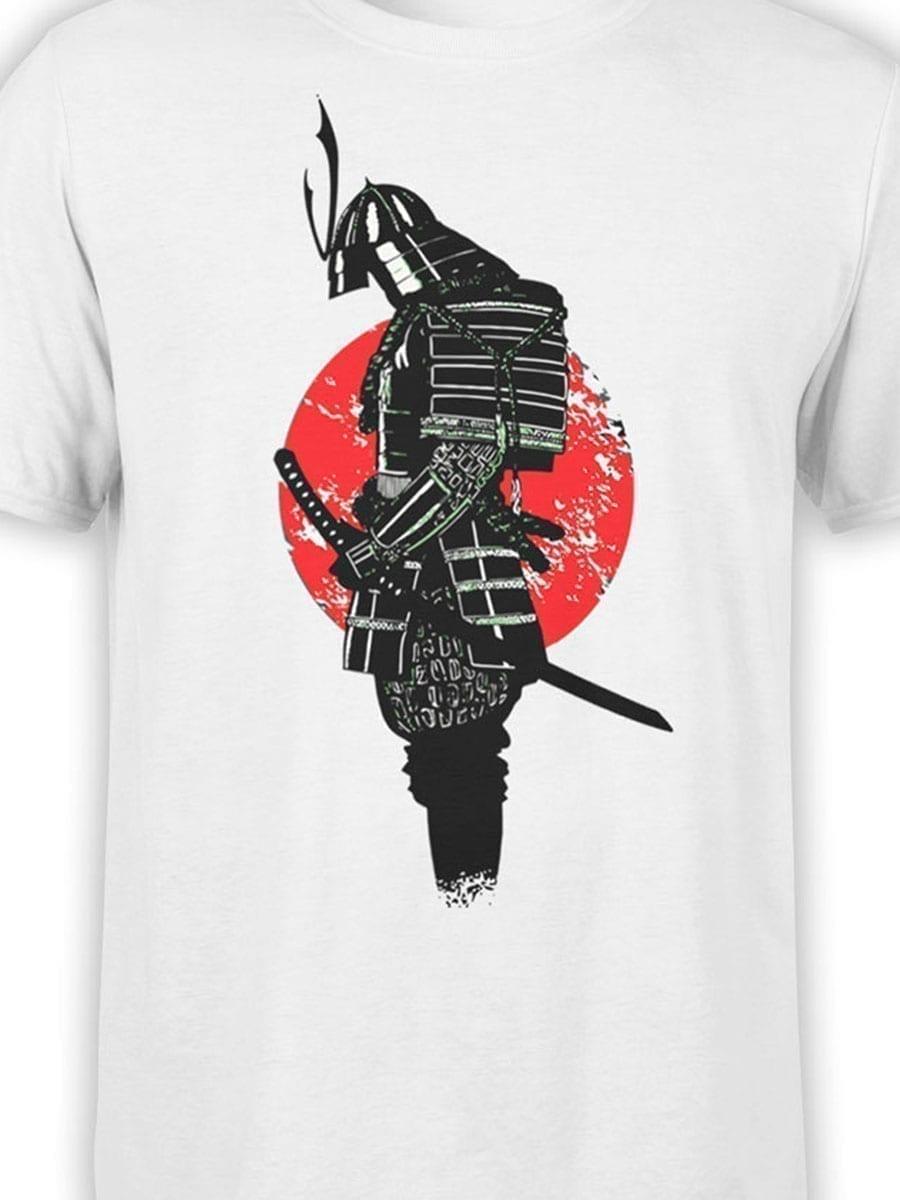 1914 Lonely Samurai T Shirt Front Color