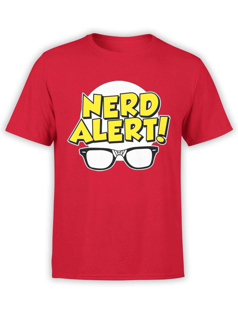 1918 Nerd Alert T Shirt Front