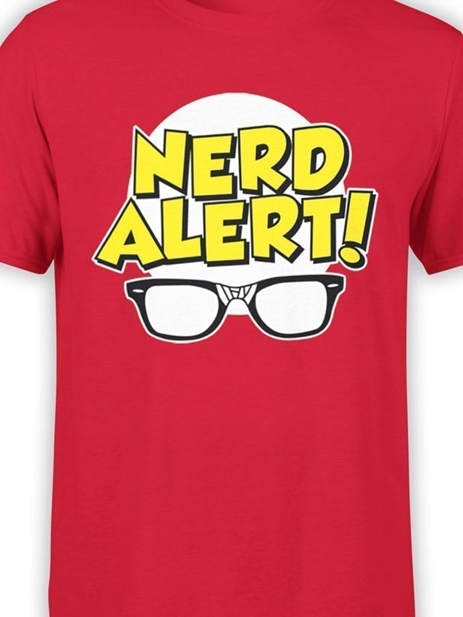 1918 Nerd Alert T Shirt Front Color