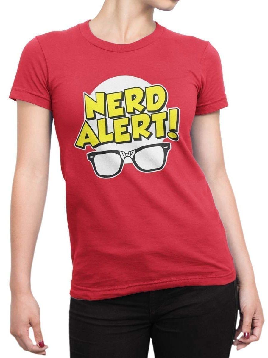 1918 Nerd Alert T Shirt Front Woman