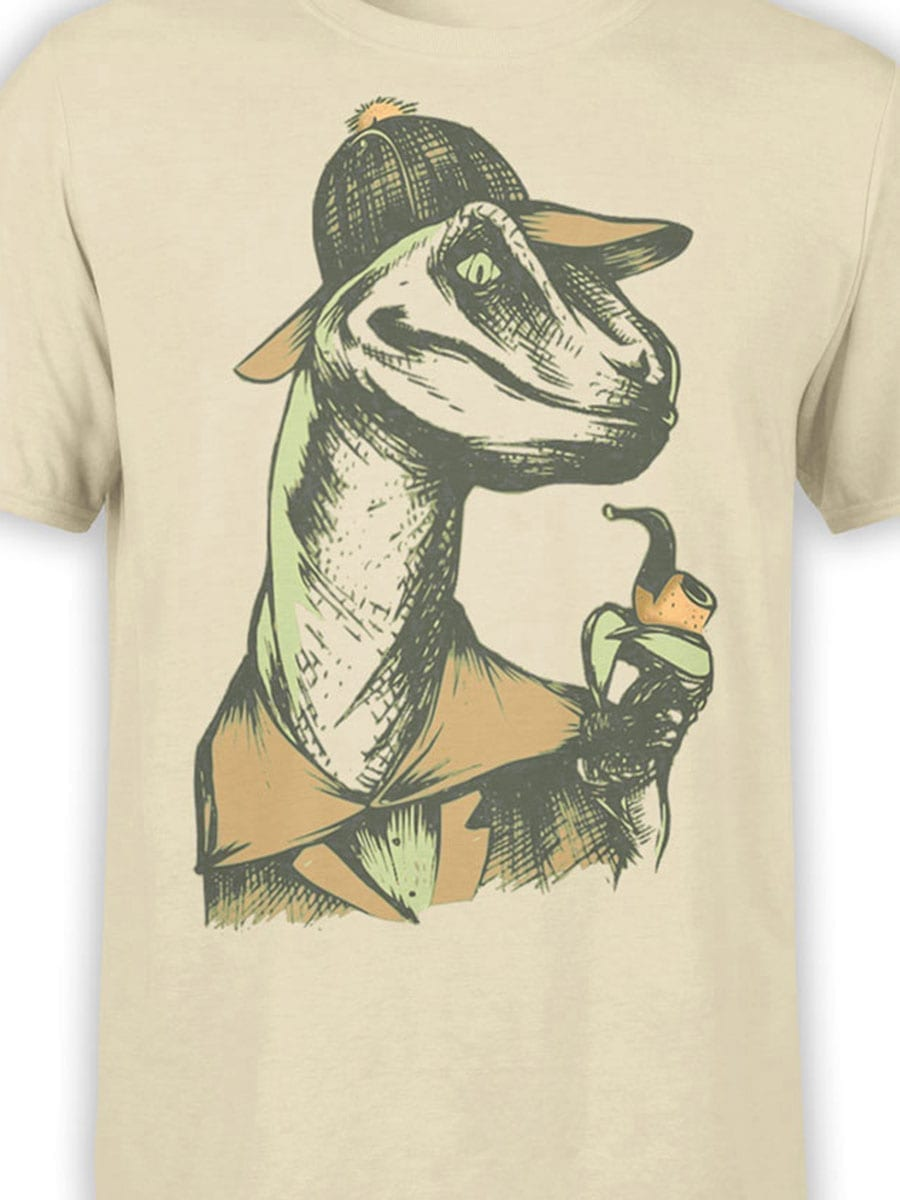 1919 Dino Detective T Shirt Front Color
