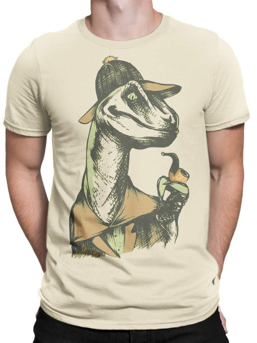 1919 Dino Detective T Shirt Front Man