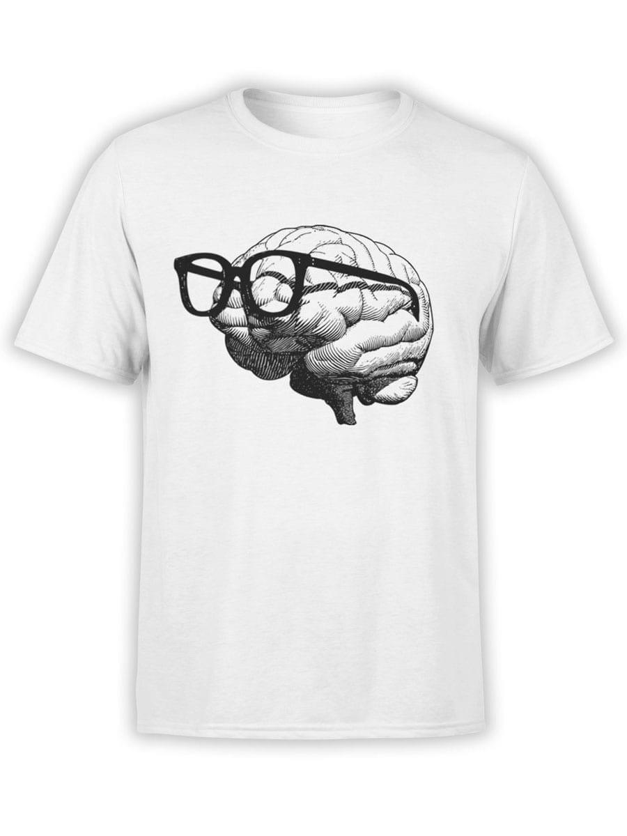 1921 Nerd Brain T Shirt Front
