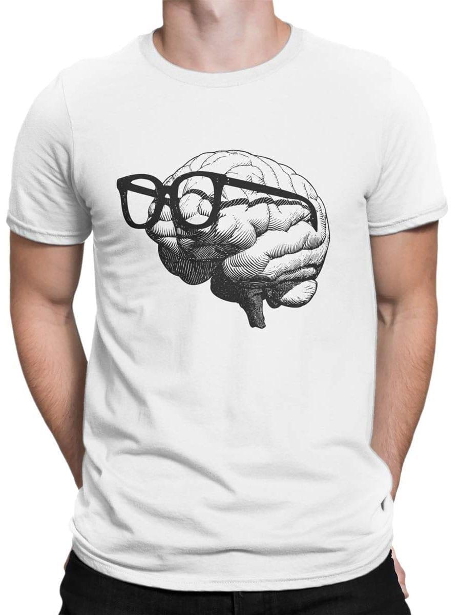 1921 Nerd Brain T Shirt Front Man