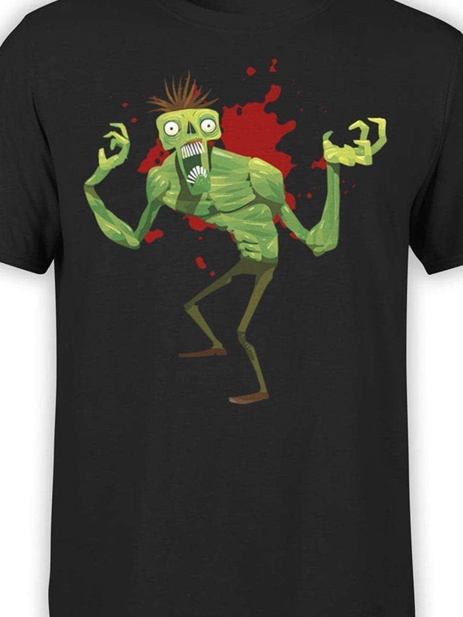 1922 Funny Monster T Shirt Front Color