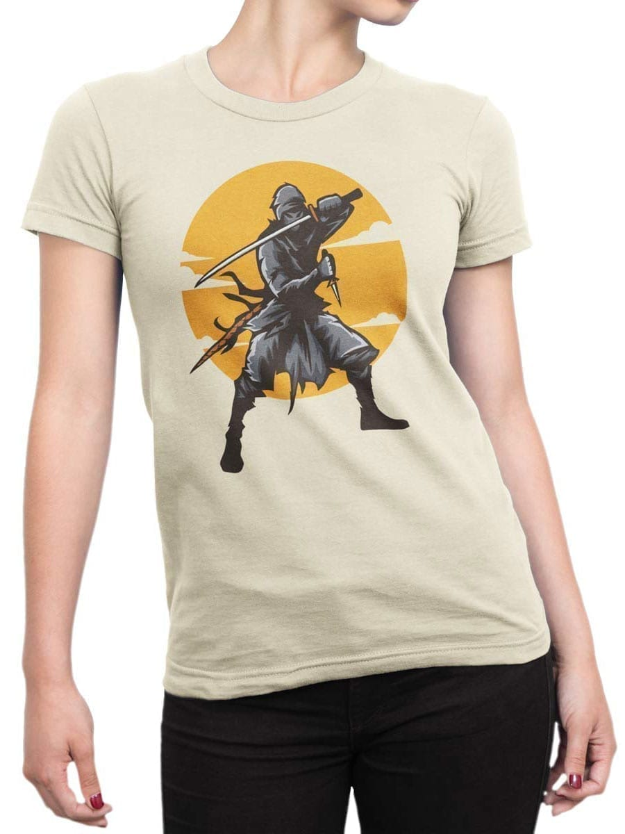 1927 Ninja T Shirt Front Woman