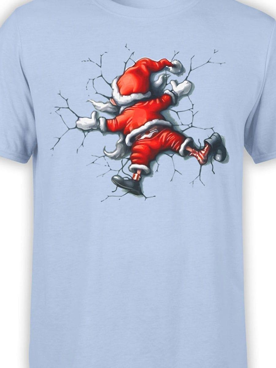 1928 Santa Claus T Shirt Front Color