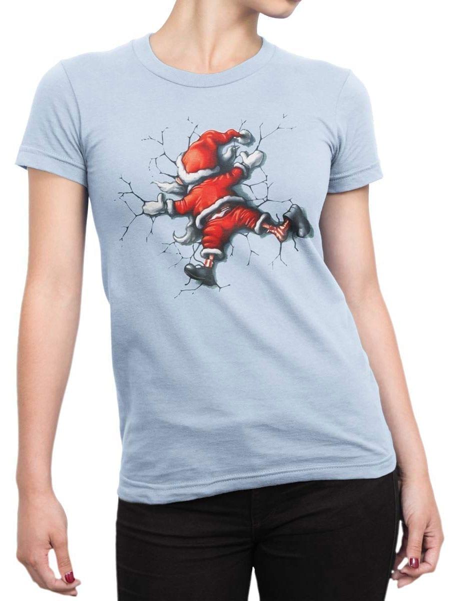 1928 Santa Claus T Shirt Front Woman
