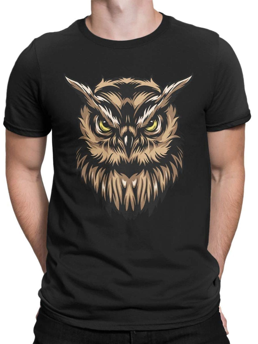 1931 Angry Owl T Shirt Front Man