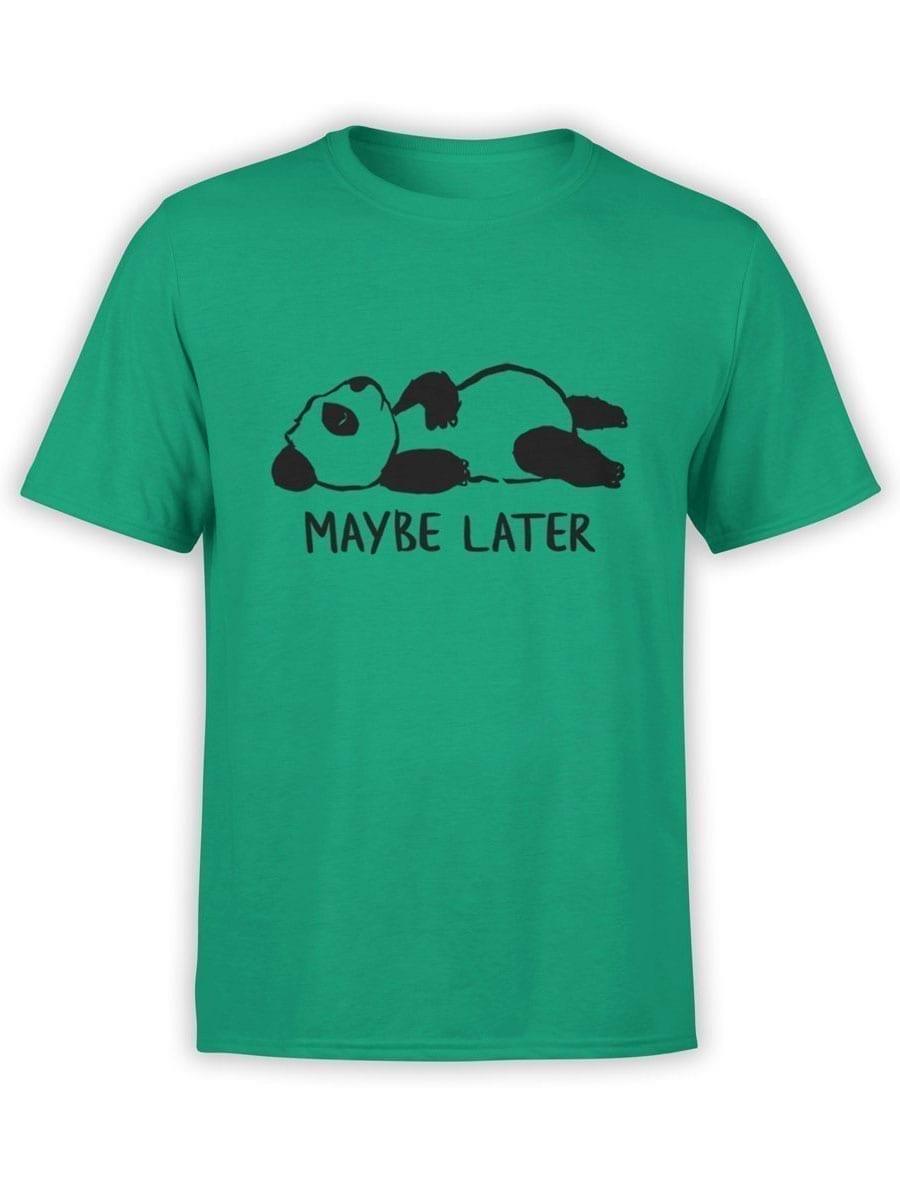 1932 Lazy Panda T Shirt Front