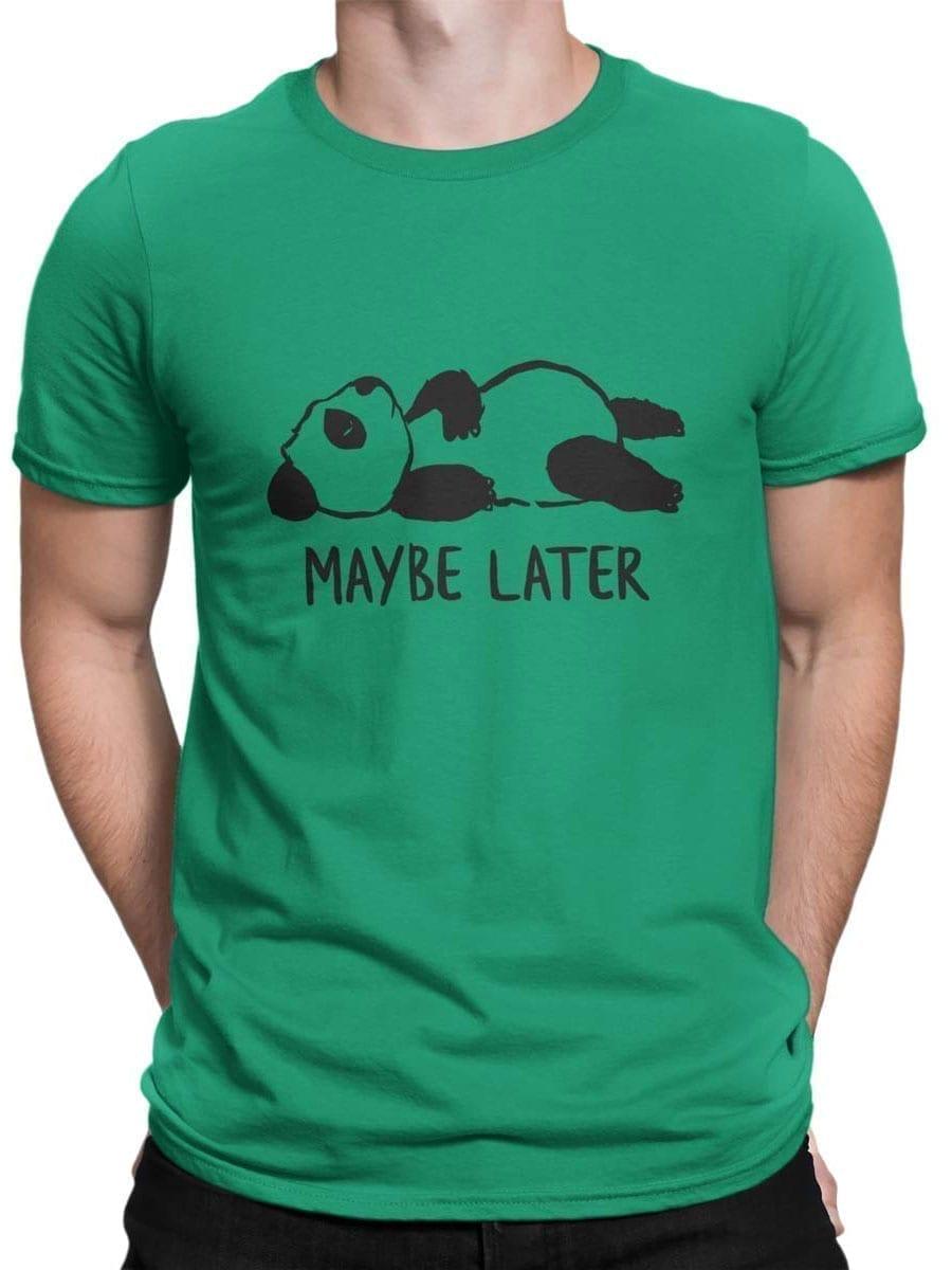 1932 Lazy Panda T Shirt Front Man