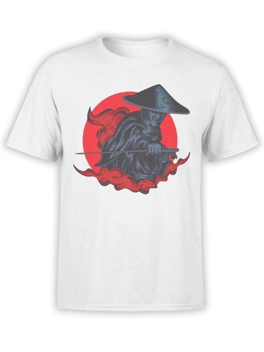 1935 Raiden Samurai T Shirt Front