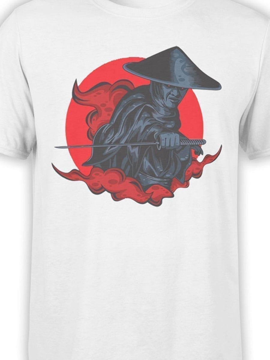 1935 Raiden Samurai T Shirt Front Color