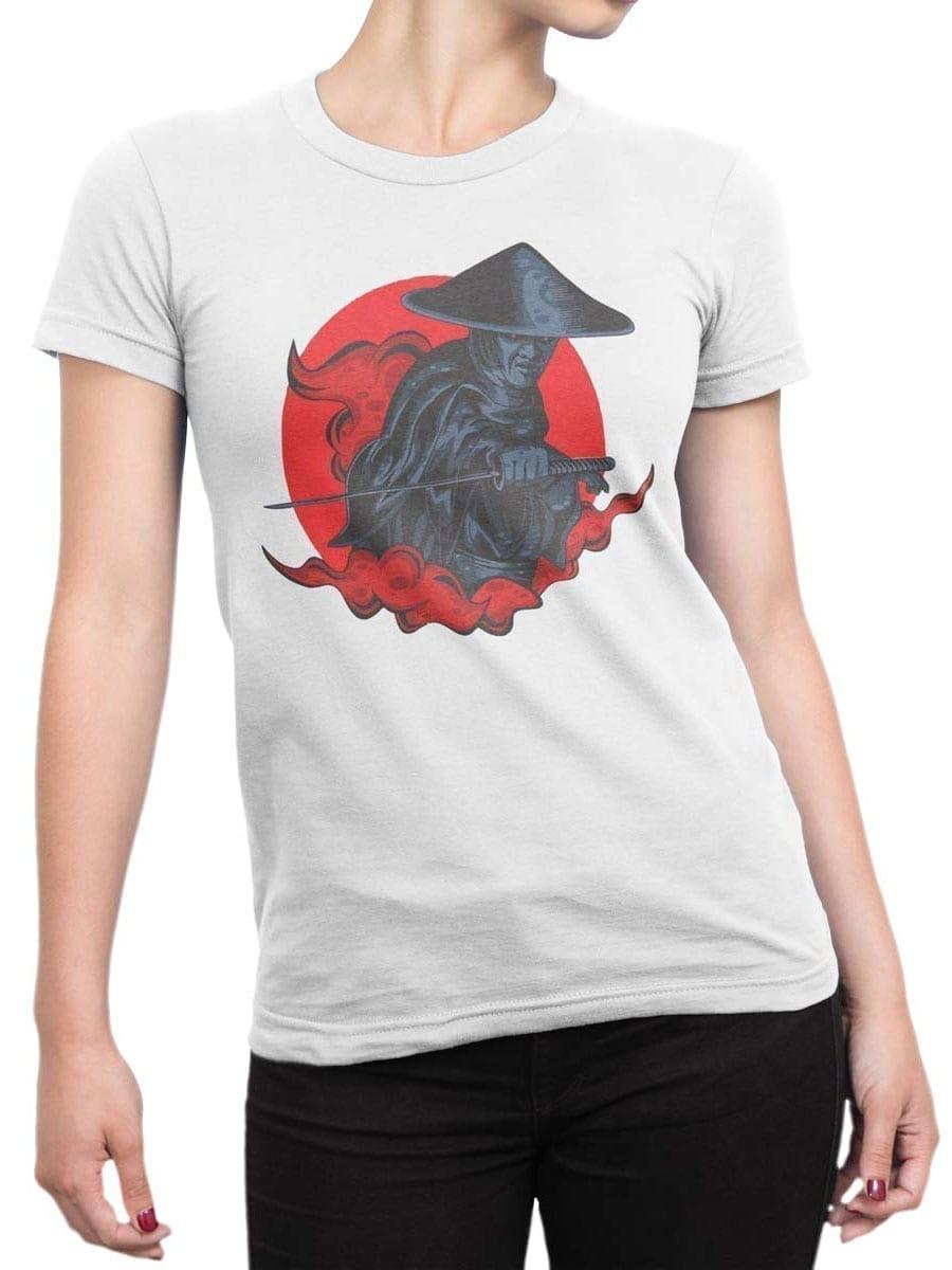 1935 Raiden Samurai T Shirt Front Woman