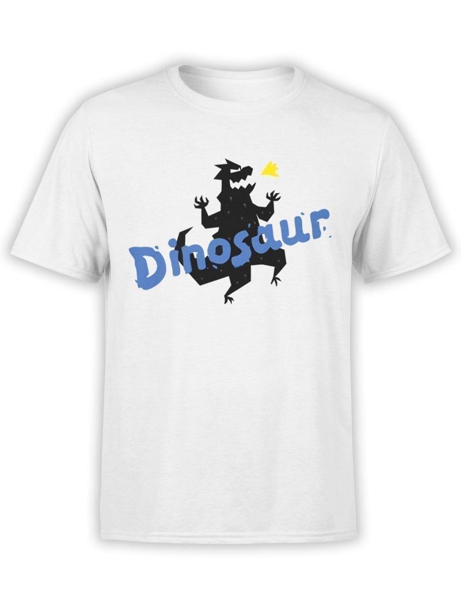 1936 Funny Dinosaur T Shirt Front