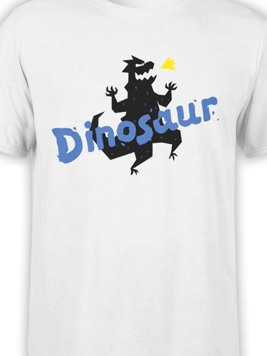 1936 Funny Dinosaur T Shirt Front Color