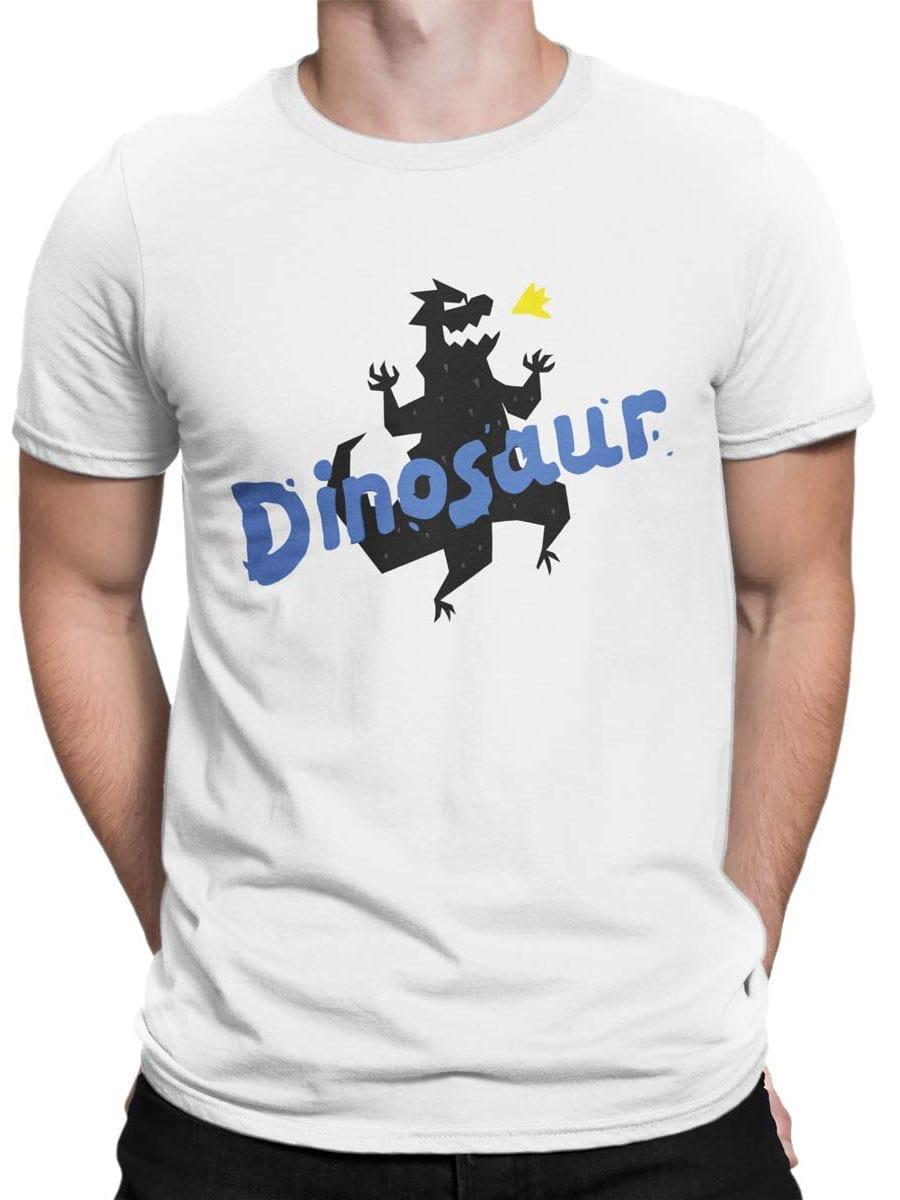 1936 Funny Dinosaur T Shirt Front Man