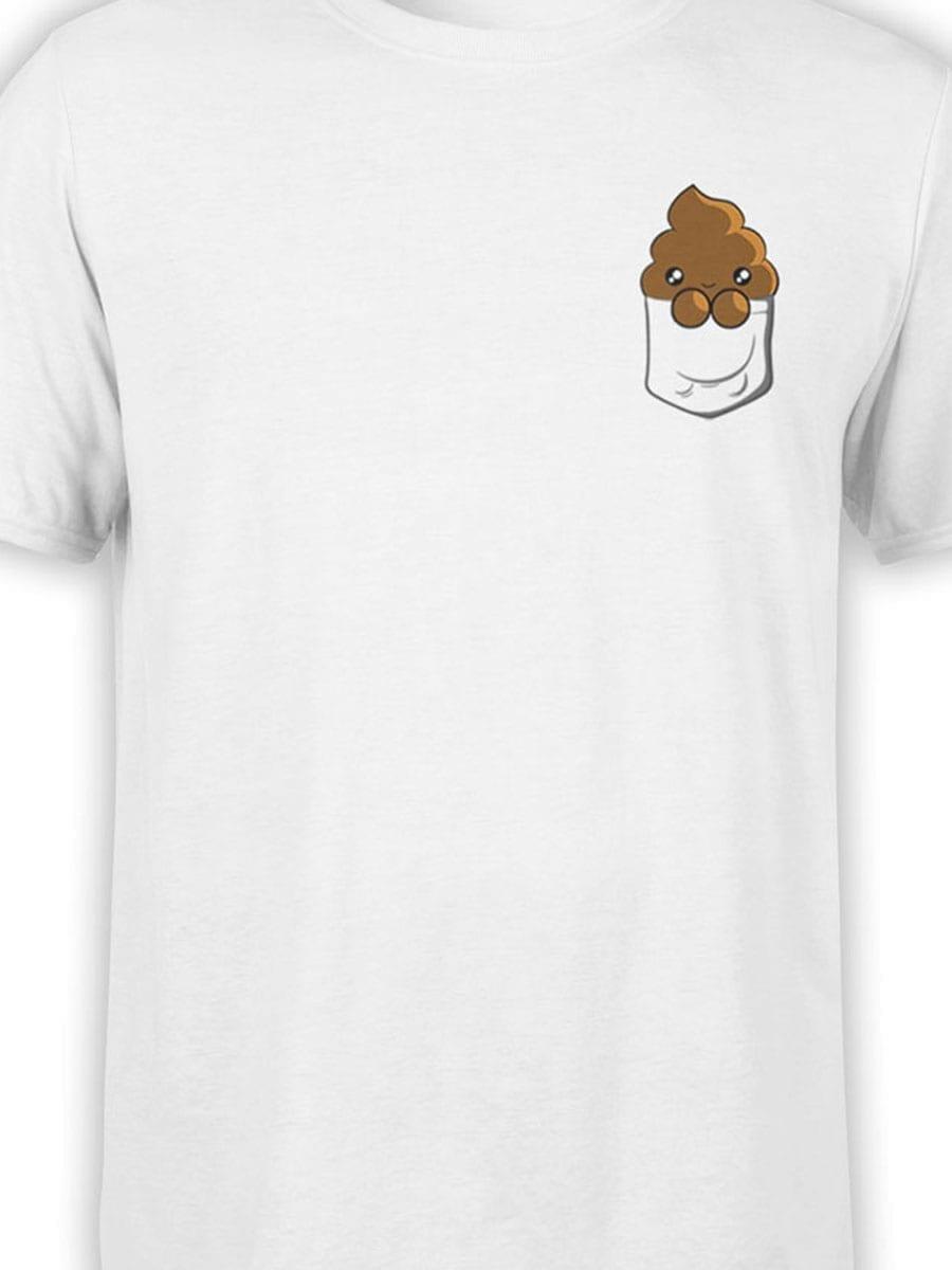 1938 Pocket Shit T Shirt Front Color
