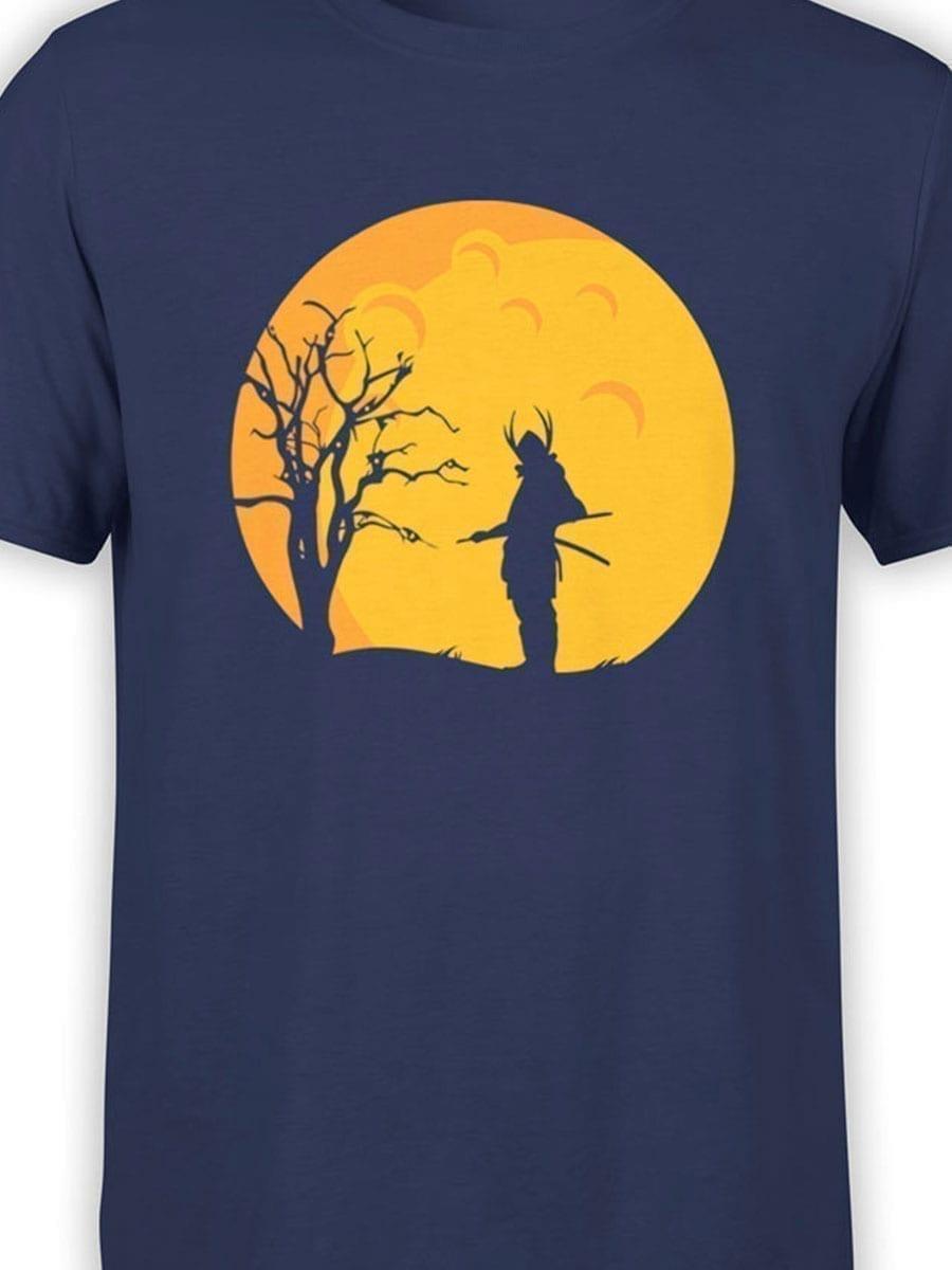 1939 Samurai Night T Shirt Front Color